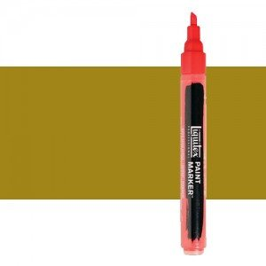Rotulador Liquitex Paint Marker color oro antiguo iridiscente (2 mm)