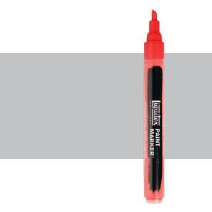 Rotulador Liquitex Paint Marker color Plata Rica Iridiscente (2 mm)