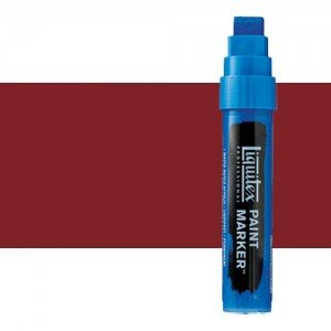 Rotulador Liquitex Paint Marker color Tono Rojo de Cadmio Medio (15 mm)