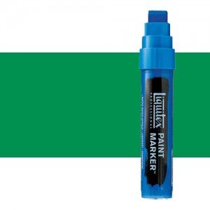 Rotulador Liquitex Paint Marker color verde claro permanente (15 mm)