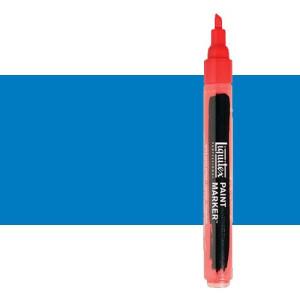 Rotulador Liquitex Paint Marker color azul ftalocianina sombra verde (2 mm)