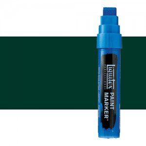 Rotulador Liquitex Paint Marker color Verde Ftalo Sombra Azul (15 mm)