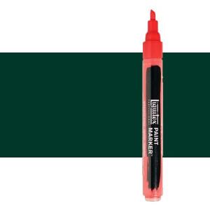 Rotulador Liquitex Paint Marker color verde ftalocianina sombra azul (2 mm)