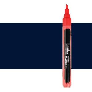Rotulador Liquitex Paint Marker color tono azul de Prusia (2 mm)