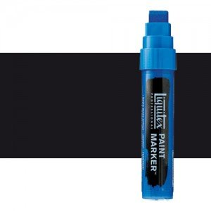 Rotulador Liquitex Paint Marker color negro de carbón (15 mm)