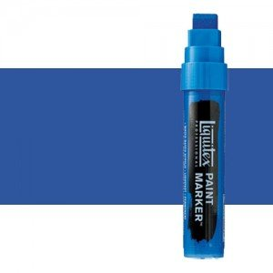 Rotulador Liquitex Paint Marker color tono azul de cobalto (15 mm)
