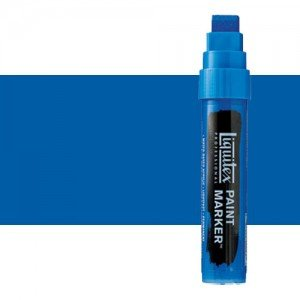 Rotulador Liquitex Paint Marker color Tono Azul Cerúleo (15 mm)