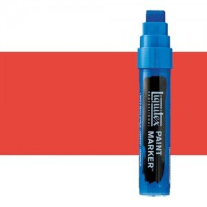 Rotulador Liquitex Paint Marker color Tono Rojo de Cadmio Claro (15 mm)