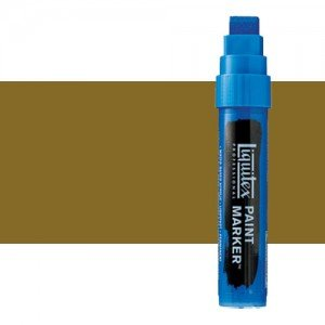 Rotulador Liquitex Paint Marker color Amarillo Bronce (15 mm)