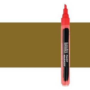 Rotulador Liquitex Paint Marker color amarillo bronce (2 mm)