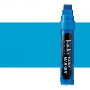 Rotulador Liquitex Paint Marker color azul brillante (15 mm)