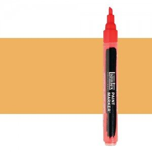 Rotulador Liquitex Paint Marker color tono amarillo de Nápoles (2 mm)