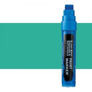 Rotulador Liquitex Paint Marker color Verde Agua Brillante (15 mm)