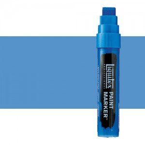 Rotulador Liquitex Paint Marker color violeta azul claro (15 mm)