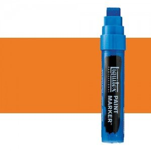 Rotulador Liquitex Paint Marker color naranja de cadmio, tono (15 mm)