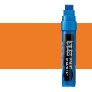 Rotulador Liquitex Paint Marker color naranja de cadmio, tono (15 mm)