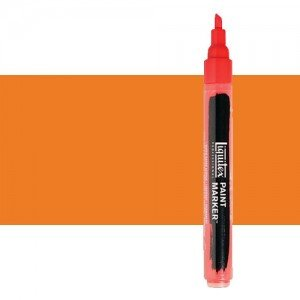 Rotulador Liquitex Paint Marker color Tono Naranja de Cadmio (2 mm)