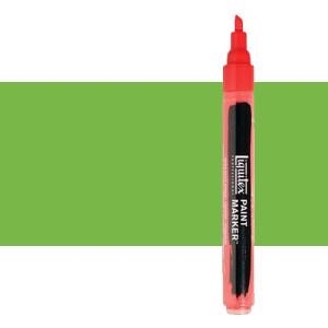Rotulador Liquitex Paint Marker color Verde Lima Vivo (2 mm)
