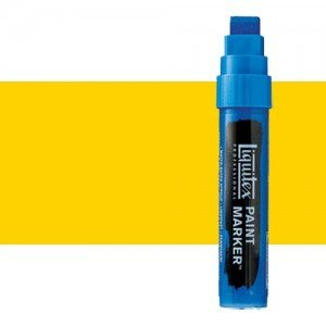 Rotulador Liquitex Paint Marker color tono Amarillo de Cadmio Medio (15 mm)