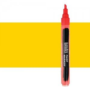 Rotulador Liquitex Paint Marker color tono Amarillo de Cadmio Medio (2 mm)