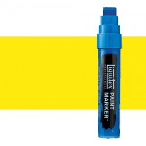 Rotulador Liquitex Paint Marker color Amarillo Fluorescente (15 mm)