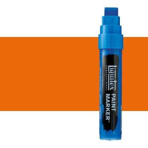 Rotulador Liquitex Paint Marker color naranja fluorescente (15 mm)
