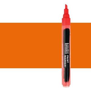 Rotulador Liquitex Paint Marker color Naranja Fluorescente (2 mm)