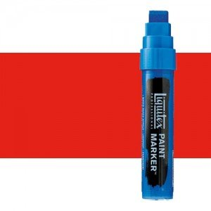 Rotulador Liquitex Paint Marker color Rojo Fluorescente (15 mm)