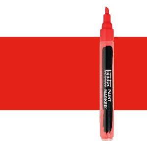 Rotulador Liquitex Paint Marker color rojo fluorescente (2 mm)