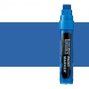 Rotulador Liquitex Paint Marker color Azul Fluorescente (15 mm)