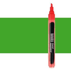 Rotulador Liquitex Paint Marker color verde fluorescente (2 mm)