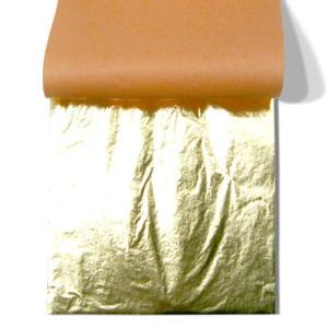 Pan de Oro imitacion TRANSFERIBLE, librito 25 h. 14x14 cm.