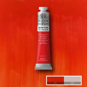 Óleo Winsor & Newton Winton color Tono Escarlata Cadmio (200 ml)