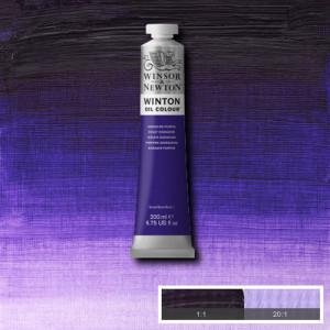 Óleo Winsor & Newton Winton color Púrpura de Dioxacina (200 ml)