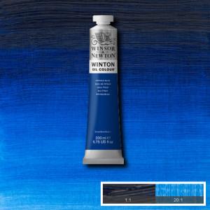 Óleo Winsor & Newton Winton color Azul Ftalo (200 ml)