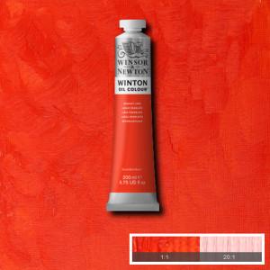 Óleo Winsor & Newton Winton color Laca Escarlata (200 ml)
