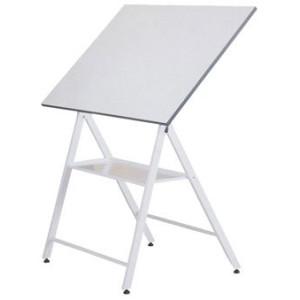 Mesa de dibujo plegable y elevacion 800x1200