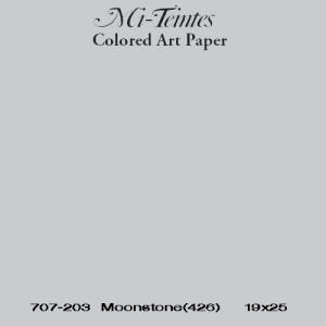 Mi-teintes Canson Gris Claro, 160 gr., 50x65 cm.