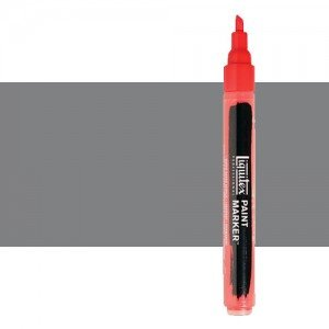 Rotulador Liquitex Paint Marker color gris neutro nº 5 (2 mm)