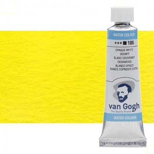 Acuarela Van Gogh color amarillo limón permanente (10 ml)