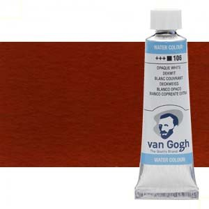 Acuarela Van Gogh color rojo inglés (10 ml)