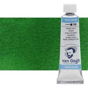 Acuarela Van Gogh color verde Hooker oscuro (10 ml)