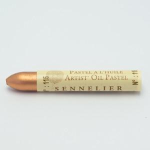 Pastel al óleo Sennelier iridesciente 5ml Cobre Rojizo