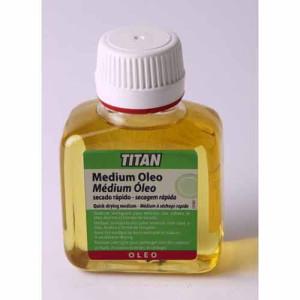 Medium Oleo secado rapido Titan, 250 ml.