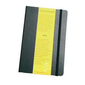 Block Travel Journal Hahnemuehle R, 140 gr, 62 h, 13.5x21 cm.