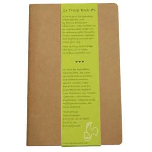 Block Travel Booklet Hahnemuehle R, 140 gr, 2x20 h, 13.5x21 cm.