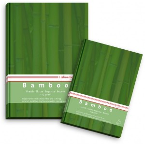 Block Bamboo Esbozo Hahnemuehle, 105 gr, 64 h, 14.8x21 cm.