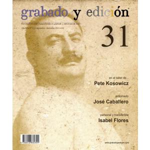Revista Grabado y Edicion, n. 31