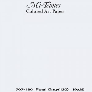 Mi-teintes Canson Gris Perla, 160 gr., 21x30 cm.