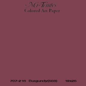 Mi-teintes Canson Heces de Vino, 160 gr., 21X30 cm.